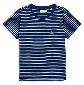 Lacoste Boy's Striped Tee - Little Kid, Big Kid