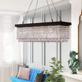 Three Posts Verdell 5-Light Crystal Chandelier