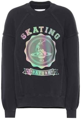 Maison Margiela Skating Saturn cotton sweatshirt
