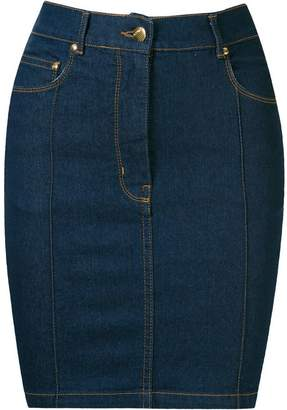 Amapô high waist denim skirt