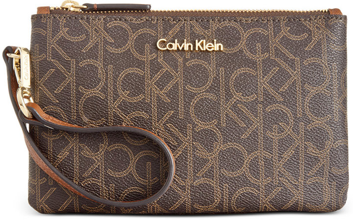 Calvin KleinCalvin Klein Monogram Wristlet