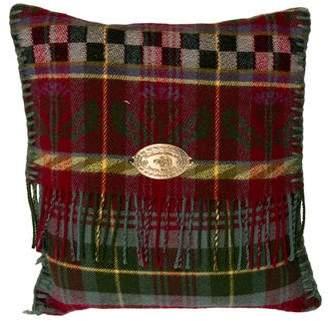 Mackenzie Childs MacKenzie-Childs Wool Plaid Throw Pillow
