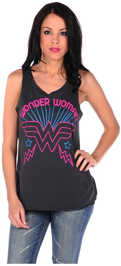 Junk Food Wonder Woman Muscle Tee