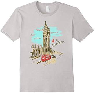 London England T-Shirt- Retro Souvenir Love London Shirt