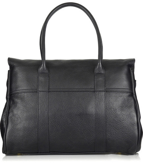 Mulberry Bayswater textured-leather bag