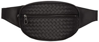 Bottega Veneta Black Intrecciato Belt Pouch