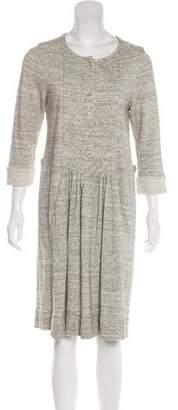 Isabel Marant Long Sleeve Knee-Length Dress