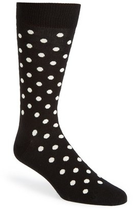 Men's Happy Socks Dots Socks $12 thestylecure.com