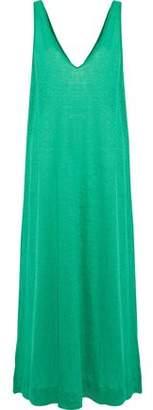By Malene Birger Thiana Linen-jersey Maxi Dress