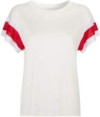 Rag & Bone Penny Stripe Sleeve T-Shirt