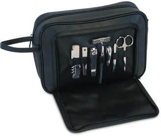 Royce Leather Toiletry Combo Grooming Set