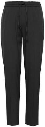 Banana Republic Slim Lightweight Drawstring Suit Pant