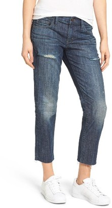 Women's Treasure & Bond High Waist Boyfriend Jeans $99 thestylecure.com