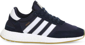 adidas Iniki low-top suede trainers