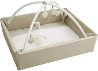 Roba 75001 S105 Baby Cot Bumper with Play Arch