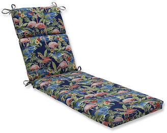 Pillow Perfect Flamingoing Lagoon Chaise Lounge Cushion