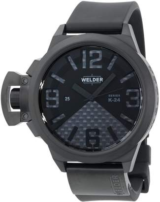 Welder Men's K24-3104 K24 Automatic Analog Ion-Plated Stainless Steel Round Watch
