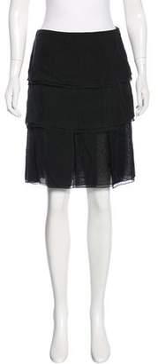 Stella McCartney Knee-Length Silk Skirt