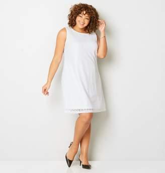 Avenue Circle Lace A-Line Dress