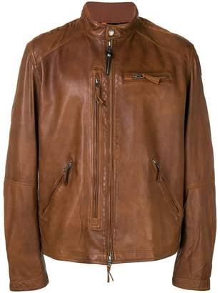 Parajumpers lambskin zipped jacket