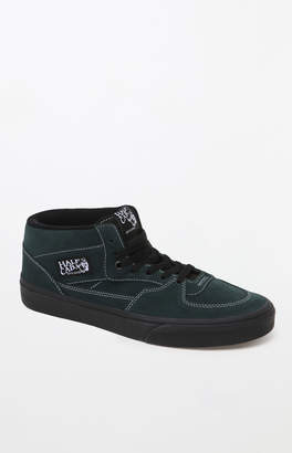 Vans Half Cab Green Black Sole Shoes