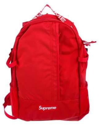 Supreme 2018 Box Logo Backpack