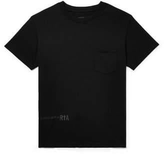RtA Printed Cotton-Jersey T-Shirt