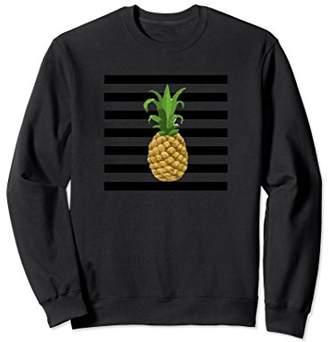 Pineapple Striped Sweatshirt