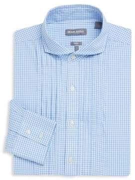 Michael Bastian Checkered Cotton Dress Shirt