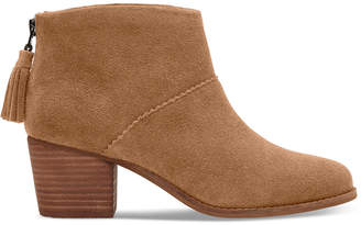 Toms Women's Leila Suede Ankle Boot