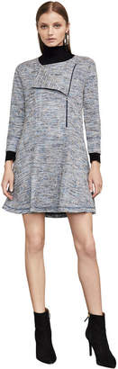BCBGMAXAZRIA Linza Boucle A-Line Dress