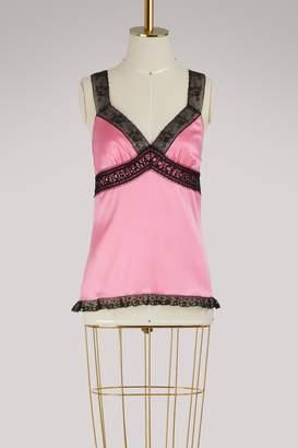 Dolce & Gabbana Silk tank top