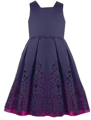 Iris & Ivy Mikado Fit & Flare Dress