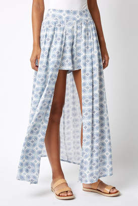 Boho Me Printed Walk Thru Maxi Skirt