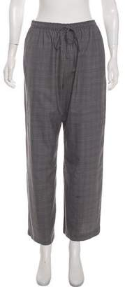 eskandar High-Rise Wool Pants