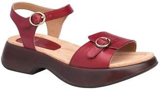Dansko Open Toe Leather Sandals - Lynnie