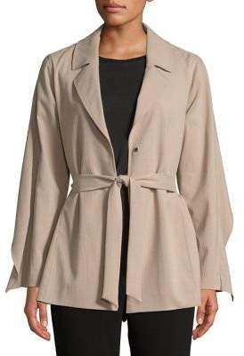 Halston H Soft Trench Coat