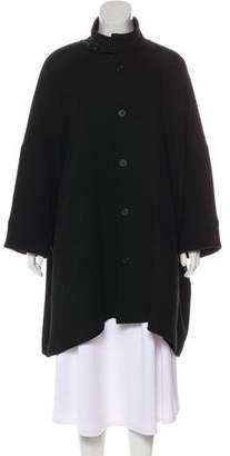 eskandar Wool Utility Collar Coat