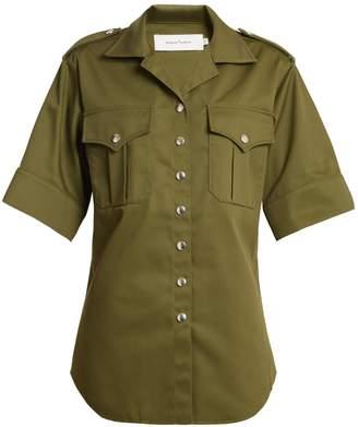 Marques Almeida MARQUES'ALMEIDA Safari short-sleeved shirt
