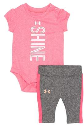 Under Armour Shine Bodysuit & Legging Set