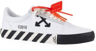 Off-White Off White Stripe Low-Top Sneakers