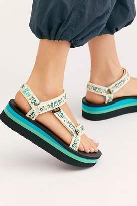 Free People Teva X Anna Sui Flatform Universal Sandal