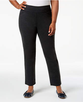 Charter Club Plus Size Pull-On Pants, Created for Macy's