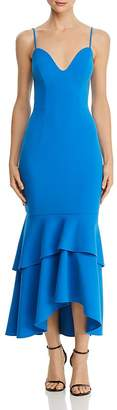 Aqua Tiered-Flounce Hem Dress - 100% Exclusive