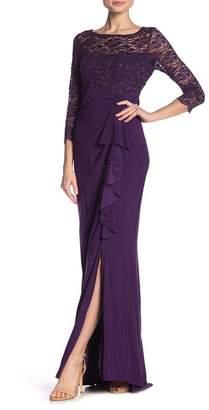 Marina Cascade Lace Upper Gown
