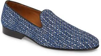 Donald J Pliner Premo Woven Venetian Loafer