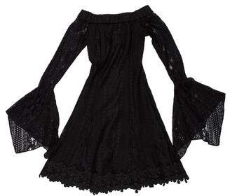Nicholas Cornelli Lace Fit & Flare Mini Dress w/ Tags