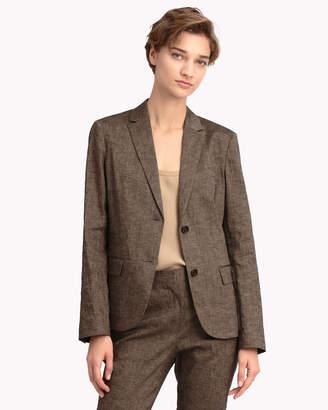 Theory (セオリー) - 【Theory】Textured Linen Classic Blazer J