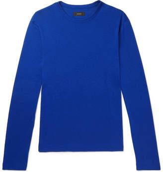 Joseph Lyocell and Cotton-Blend Jersey T-Shirt - Blue