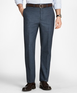 Brooks Brothers Madison Fit Stretch Flannel Trousers